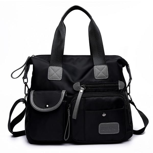 Women Crossbody Bags Oxford Fashion Designer Female Handbags Portable Shoulder Bag Office Ladies Hobos Messenger Bag Tote Y190620