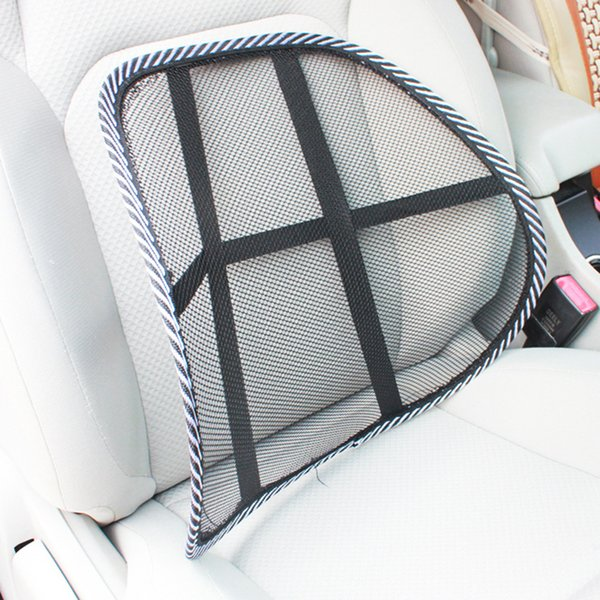Car Chair Back Support Massage Cushion Mesh Lumbar Back Brace Pillows Car Seat and Office Chair Lumbar Supportor Car-styling