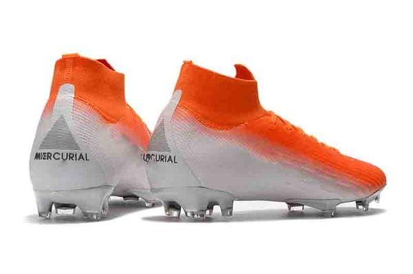 Yeni Erkek CR7 Melhor Elite Ronaldo KJ VI 360 FG Futbol Ayakkabı Futbol Ayakkabısı Mercurial Superfly 6 Cristiano Ronaldo Erkekler Futbol Profilli