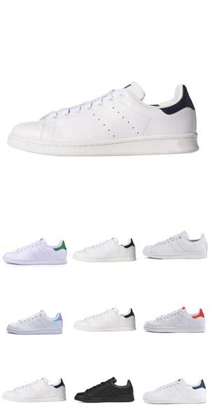 Nova moda de alta qualidade Smith esportes casuais casal sapatos de couro esportes clássico fundo plano coringa 36-44