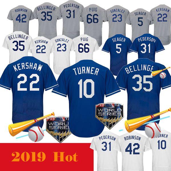 Dodgers Forması 22 Clayton Kershaw 10 Justin Turner 3 Chris Taylor 5 Corey Seager 23 Adrian Gonzalez 14 Enrique Hernandez Elite