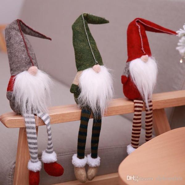 4PCS Handle Protector Handle Cover Decoraciones Christmas Tree Kitchen Gloves W