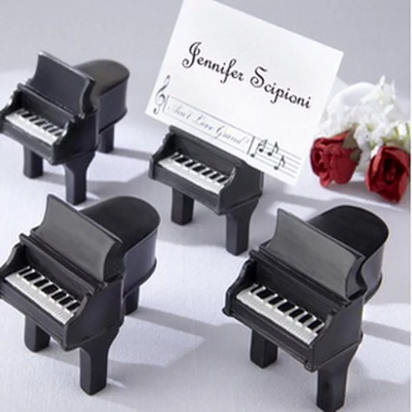 2019 Music Theme Favor Ain'T Love Grand Piano Place Card Holder Wedding  Party Favor Clips Holder Table Number DHL From Cat11cat, $1 31   DHgate Com