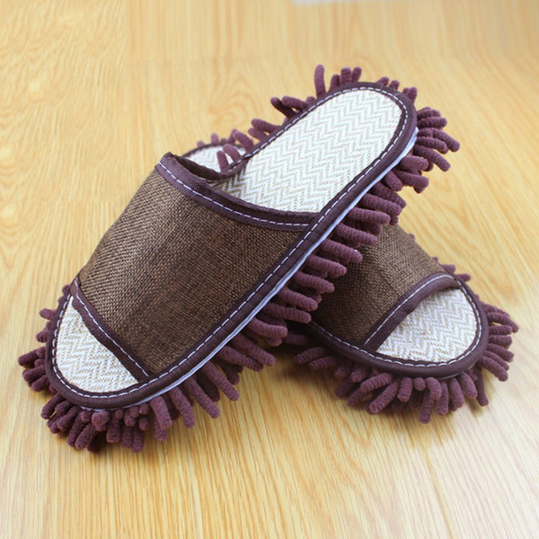 Mops Hoomall Dust Mop Lazy Cleaning Foot Cleaner Shoe Mop Slipper Microfiber Soft Wearable Bathroom Floor Dusting Cover