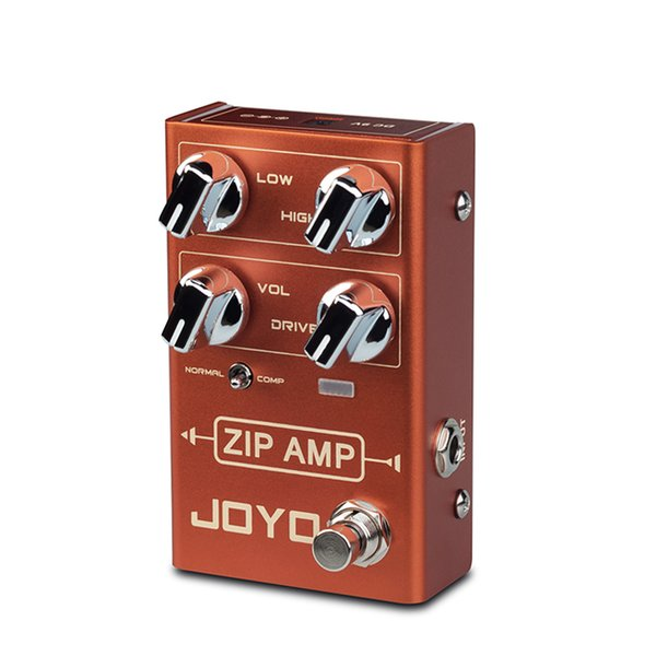 JOYO R-04 ZIP AMP Overdrive Electric Guitar Effect Pedal Strong Compression Gain Distortion Rock Monoblock Effects Processor