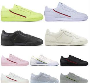 2019 Calabasas Powerphase Grey Continental 80 Chaussures de sport Kanye West Aero bleu Core noir OG blanc Hommes Femmes Trainer Sports Sneakers 40-45