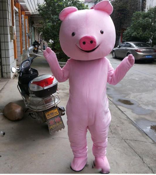 Christmas Pig.Pig Mascot Cartoon Doll Costume Zodiac Cute Pink Pig Christmas Performance Props Free Delivery Cute Mascot Costume Mascot Prices From Honest Shops