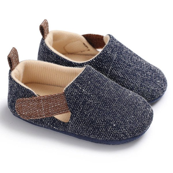 2019 New Infant Toddler Baby Boy Casual Shoes Crib Shoes Modis Fashion Soft Sole Sneaker Shoes Newborn Bebe Boy Shoe 0-18 Months