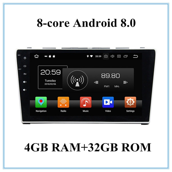 Android 8.0 Car Audio Car dvd Player for Honda CR V CRV 2006 2007 2008 2009 2010 2011 Radio GPS Bluetooth WIFI USB DVR
