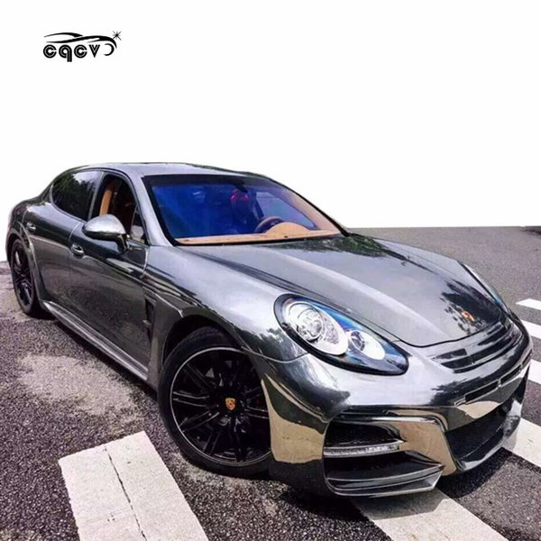 2019 High Quality WD Style Wide Body Kit 2014 2016 For Porsche Panamera  970.2 Front Bumper Rear Bumper Side Skirts And Wing Spoiler From  Carcarer001,