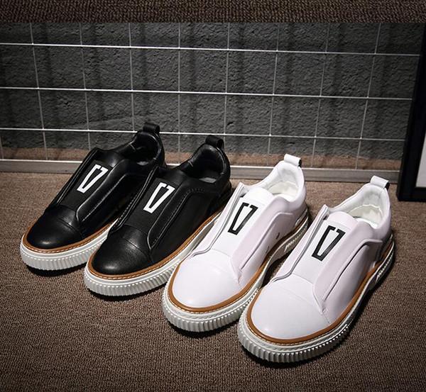 Estilo surcoreano de lujo de los hombres de los holgazanes ocasionales ClassicTassel Wedding Party Leather Shoes Plus Size 38-44 Men Flats zapatos de conducción g4.103