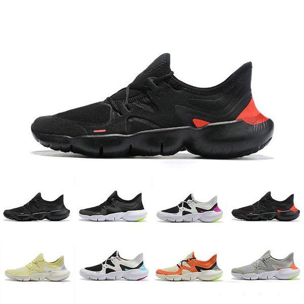 2019 бесплатно RN 5.0 кроссовки мужская мода мужская тренер лето дышащий бег женщин легкий вязать спортивные кроссовки размер 36-45