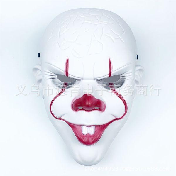 faccia Clown senza parrucca