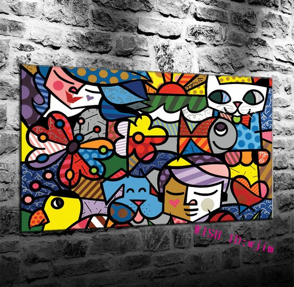 Abstract Background Street Art