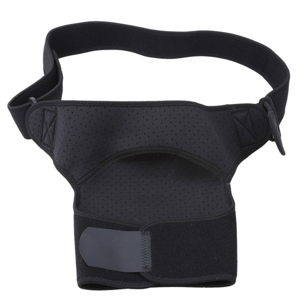 Regolabile professionale Tracolla Pads Protector Sport elastico traspirante Brace Support Wraps Shoulder Belt Back Support # 333721