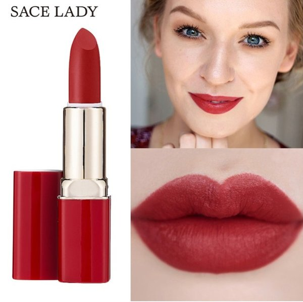 Factory 12 Color Matte Lipstick Waterproof Velvet Nude Lip Stick Make Up Long Lasting Red Mate Sexy Lip No Fade Beauty Cosmetic