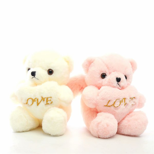 top popular High Quality Love Soft Teddy Bear angel Stuffed Animal Plush Toys Bear For Valentine's Day Gifts Boys Girls Birthday Gifts 2020