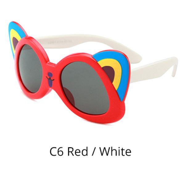C6 Kırmızı - Beyaz