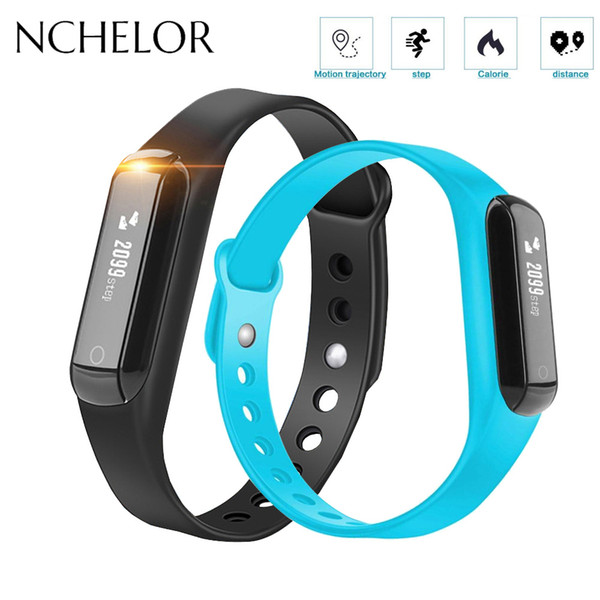 NEW Smart Band Pedometer Distance Calories Records Sport Wristband Fitness Tracker Watch for Men Women Call Reminder Bracelet