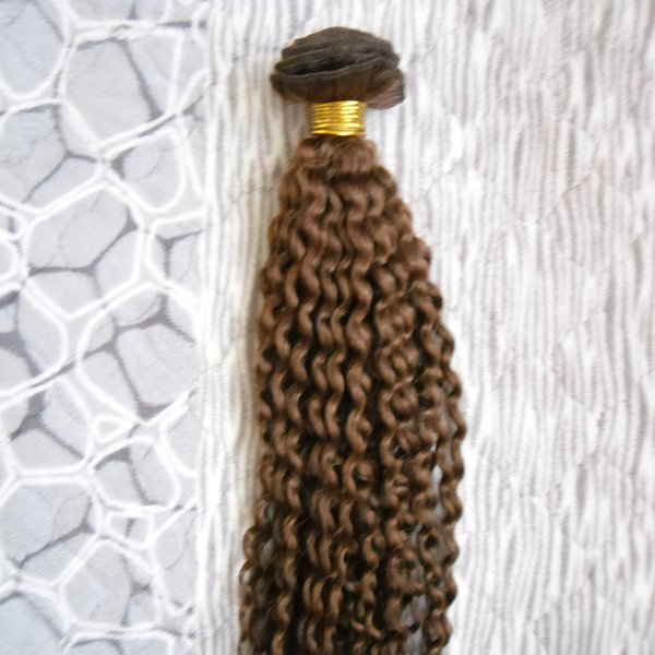 mongolian kinky curly Hair Bundles 1pcs Human Hair Weaving Bundles 100G Non-Remy Curly Hair Bundles
