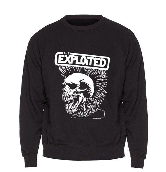 Skull Hoodie Men Skate Swag Sweatshirt Black Pullover Sweatshirts 2018 Brand Winter Autumn Fleece Warm Punk Rock Sportswear Mens