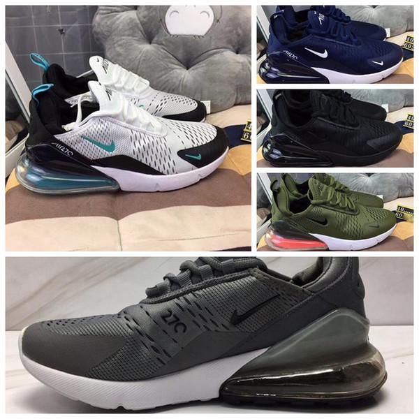 Großhandel 2019 Nike Air Max 270 Off White Flyknit Utility Vapormax Be True Designer Schuhe Throwback Future Schwarz Weiß Herren Laufschuhe French