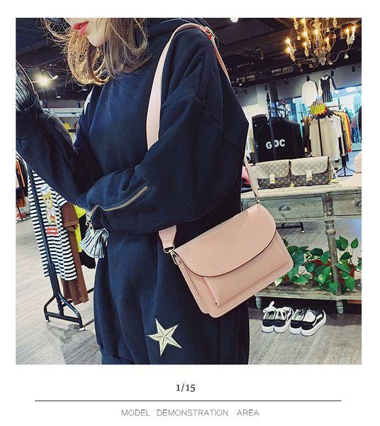 2019free envio gratuito de moda de luxo bolsa de grife mini carta impressão bolsa de ombro de alta qualidade das mulheres sacola