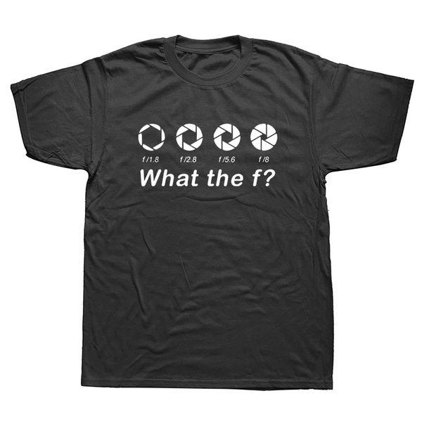 Custom Printed Photographer Camera Funny T-Shirts Men'S Short Sleeve Top O-Neck T Shirt