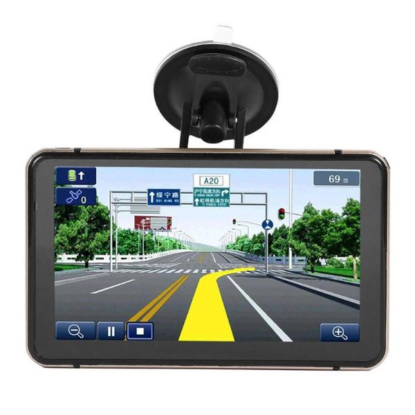 Navigazione GPS Android da 7 pollici Macchina fotografica DVR DVR Navigatore satellitare Bluetooth WiFi AV-IN Mappa Navigatore satellitare Camion Navigatori GPS Automobile