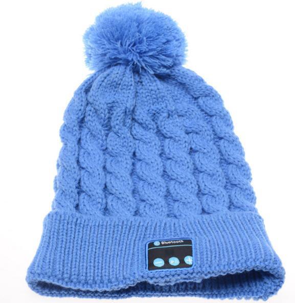 2017 Regalo de Navidad Nueva Llegada Bluetooth beanie Hat Cap Knitted Winter Magic Manos Libres Música mp3 Hat para mujer Hombres Smartphone 20