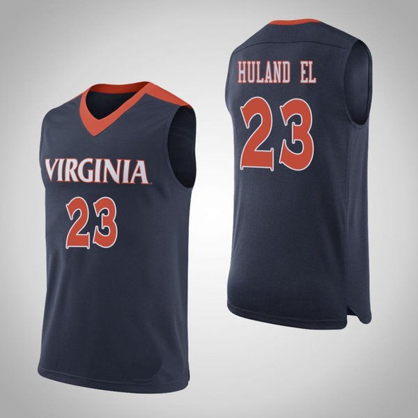 custom virginia cavaliers basketball jersey jack salt jayden nixon ...