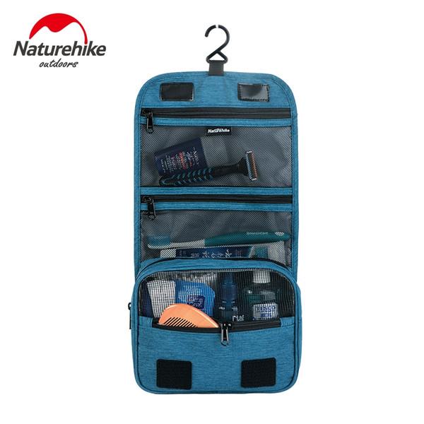 Naturehike Plegable Bolsa de Natación Impermeable 4 Colores Bolsa de Cosméticos de Lavado Portátil Kits de Viaje de Gran Capacidad Lavado # 48427