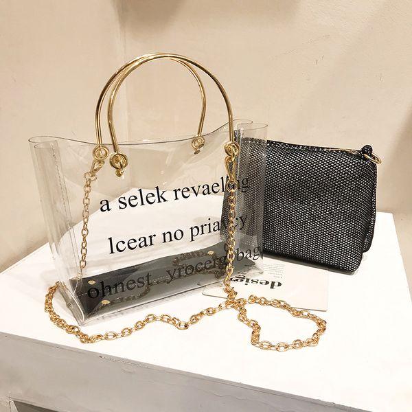 2019 yaz çanta moda Lady Kompozit Çanta Çanta omuz çantası Tasarımcı Çanta küçük Kova çanta Messenger Çanta xiangfeichunni / 3