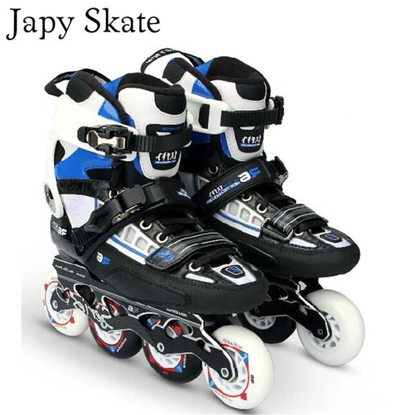 Japy Skate R6 Carbon Fiber Inline Skates Professional Adult Roller Skating Shoe Slalom Free Skating Good Quality As