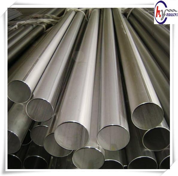 ASTM B862 3 inch titanium welded exhaust pipe price seamless pipes Titanium alloy UNS R56400 6Al-4V titanium pipe/tube