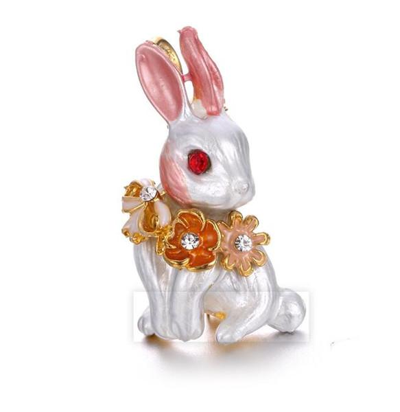 Nuovi accessori di stile Moda Lovely Rabbit Coreano Temperament Pins Spille Uomo e donna Stesso stile X1077