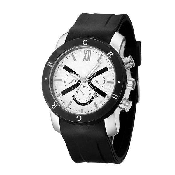2019 TOP BVLGA Brand High quality Good quality mens Luxury Watch Quartz Three colors glue Blet Fashion watch Free shipping5