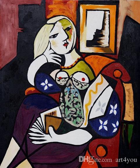 Acheter Célèbre Pablo Picasso Femme Avec