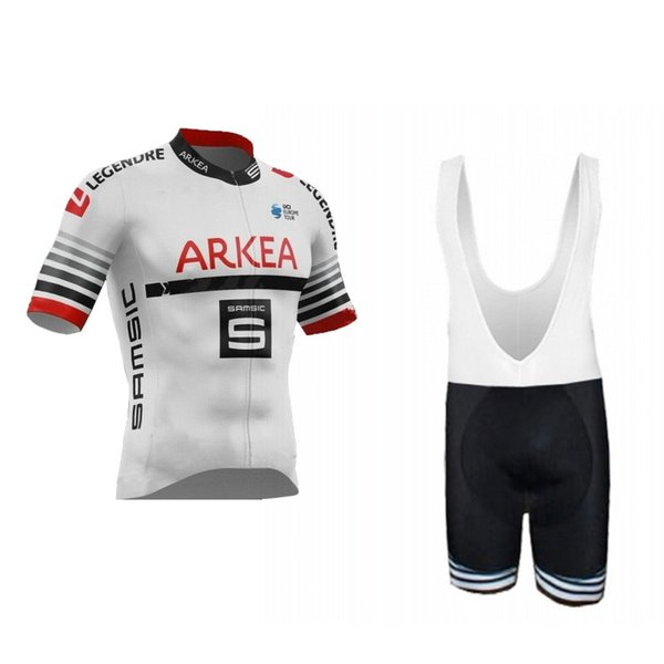 2019 Europe Tour Pro Team Arkea Samsic Cycling Jersey Kits Short Sleeve Bicycle Ropa Ciclismo Men Summer Bike Cloth Maillot Gel Pad NEW