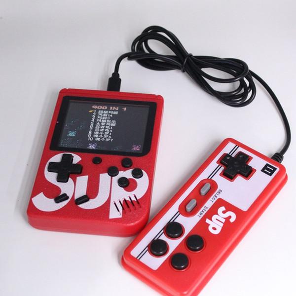 Sup Ретро Портативная мини портативная игровая консоль 400 классических игр 8-битный 3,0 ЖК-плеер видеоигры Поддержка AV с геймпадом