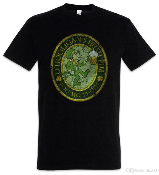 Футболка OHOOLIGANS ирландский паб винтаж-Ирландия Irland S M L XL XXL XXXL футболка
