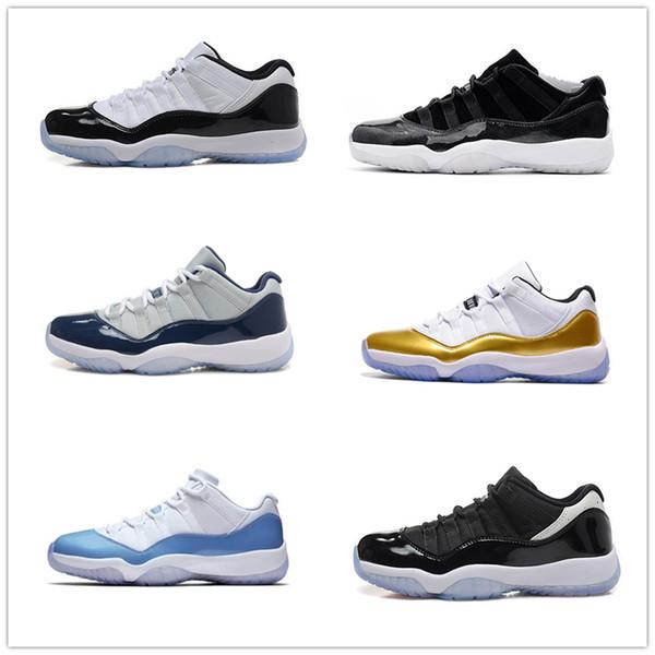 2019 11 Zapatillas de baloncesto para hombre 11s New Concord 45 Platinum Tint Space Jam Gym Red Win Like 96 XI Designer Sneakers Men Sport Shoes zz005