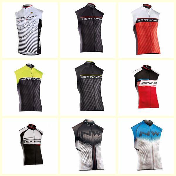 NW team Cycling Sleeveless jersey Vest man thin summer High Quality mountain bike Sportwear Ropa Ciclismo U72540