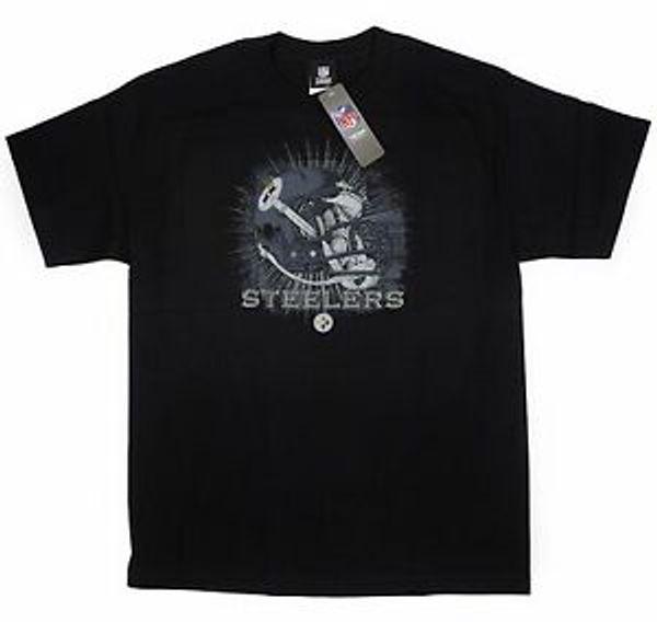 Brand STEELERS SIZE XL T-SHIRT Brand FOOTBALL 1933 HELMET