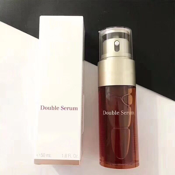 top popular High quality Skin Care Paris Double Serum Hydric Lipidic System Traitement Complet Intensif Facial Essence 50ml Hot item DHL free ship 2020