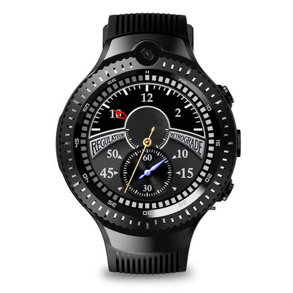 """NEW 4G LTE Smart Watch Phone Android 7.1.1 Quad Core 16GB+1GB 5MP Camera 1.6"""" Sports Smartwatch GPS WIFI BT4.0 #Y"""