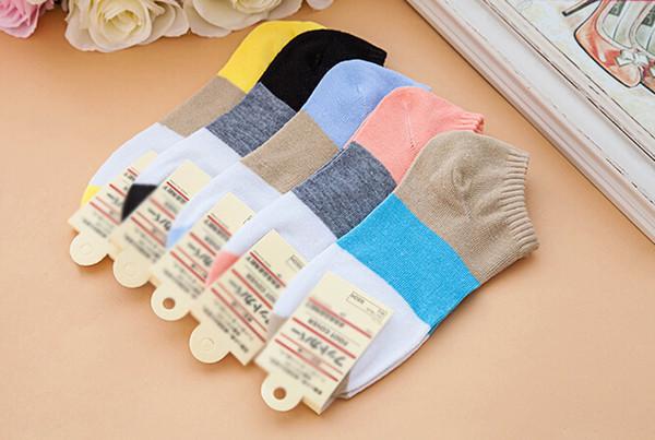 best selling 2019 New Ankle Socks Sports Short Sock Girls Cotton Sports Socks Skateboard Sneaker Stockings good item