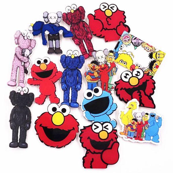 2019 Kawaii Badge Cartoon Characters Acrylic Breastpin Sesame Street Zoe Elmo Brooch Backpack Ornament Clothing Accessories From Ogfashion 40 44