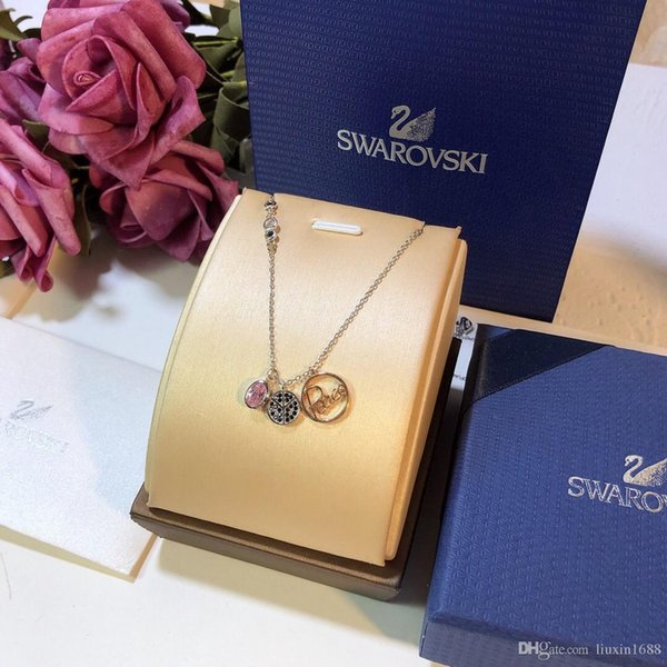 Alphabet Necklace High Quality S925 Silver Necklace 2019 New Brand Accessories 0611020