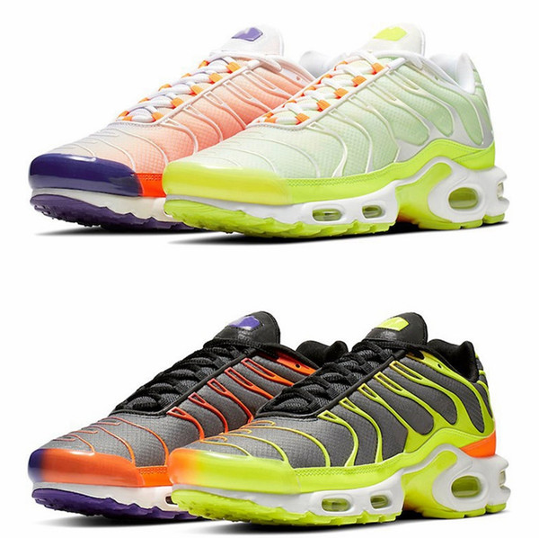 release date: pick up amazon Acheter 2020 Tn, Plus Paris Hommes Chaussures De Course Or Orange ...